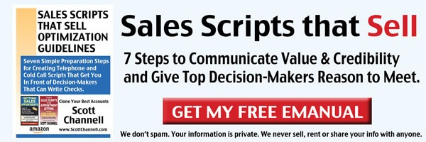 successful sales scripts ebook